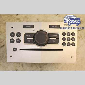 RADIO CD/MULTIMEDIAPANEL OPEL CORSA D 07-14 3DCS 1,2iECOTEC 5VXL SER ABS 2007 13254191