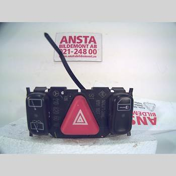 Strömställare Varningsblinkers MB E-KLASS (W210) 96-03 E 420 AVANTGARDE 1997