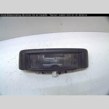 Skylt Belysning NISSAN PRIMASTAR 2,0 DCI 2007