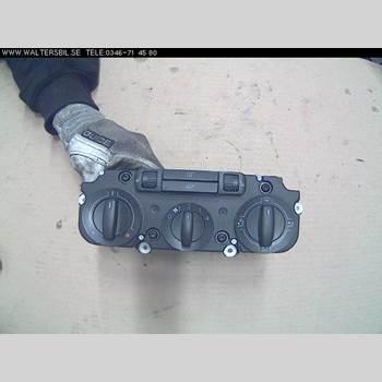 Värmereglage VW CADDY      04-10 1,9 TDI 2006 1T2819045