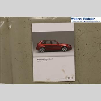Instruktionsbok AUDI A3/S4 05-13 2,0 TDI 2011