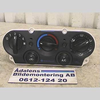 AC Styrenhet AC Manöverenhet FORD FIESTA     02-05  2005 2S6H-19980-BD