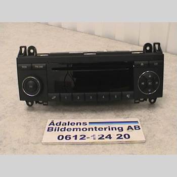 RADIO CD/MULTIMEDIAPANEL MB A-Klass (W169) 04-12  2006 A1698200386001