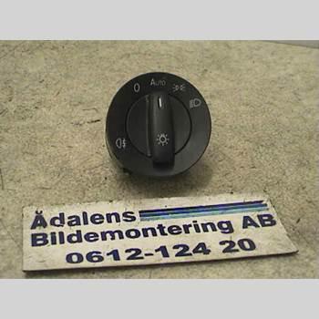 Strömställare Ljus VW PASSAT 2005-2011 PASSAT TDI 140 CR 4MOTION 2009 1K0941431BL