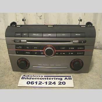 CD Radio MAZDA 3 I 07-08 MAZDA 3 KOMBISEDAN 1.6 T 2007 06D1B0706057