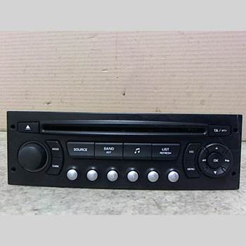 RADIO CD/MULTIMEDIAPANEL CITROEN C4 I   05-10 CITROEN C4 1.6I 110 SX P 2006 96-591-389-77