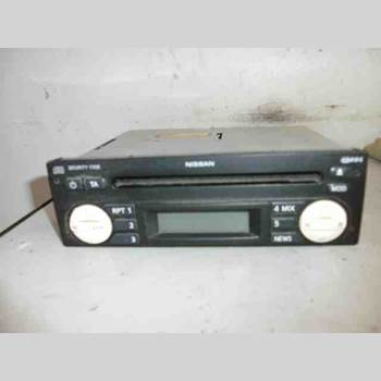 RADIO CD/MULTIMEDIAPANEL NISSAN MICRA C+C 1.6 2007 7645384318