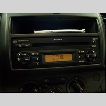 CD Radio NISSAN NOTE E11 06-14 1.6 2008 281859U00A