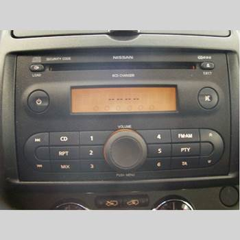CD Radio NISSAN NOTE E11 06-14 1.6 TEKNA 2006 28184BC41A