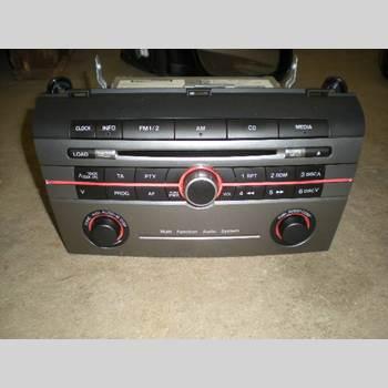 CD Radio MAZDA 3 I 07-08 2.3 DISI TUR 2007 BR6C-66-9H0