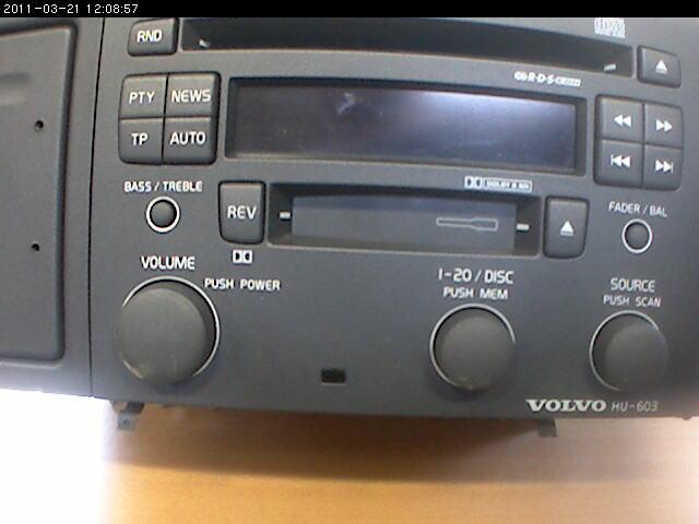 RADIO / STEREO   till VOLVO S60 2001-2004 R 36050078 (0)