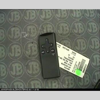 GPS NAVIGATOR VOLVO XC60 09-13 AWD 2011 30657371