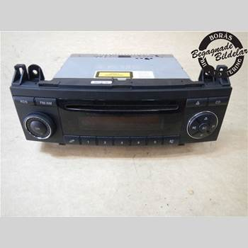 RADIO CD/MULTIMEDIAPANEL MB A-Klass (W169) 04-12 A150 2006 A1698200386