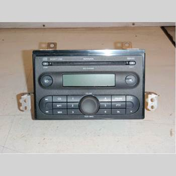 CD Radio NISSAN NOTE E11 06-14 1,6 2006 7645387318