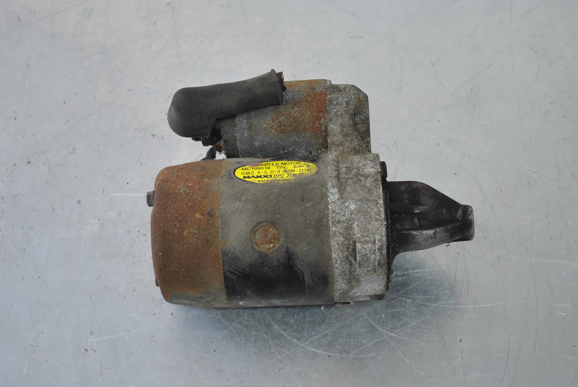 Startmotor image