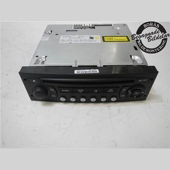 RADIO CD/MULTIMEDIAPANEL CITROEN C4 I   05-10 1,6 2005 657932