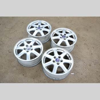Aluminiumfälg Sats 4st SAAB 9-3 VER 1 98-03 SAAB 9-3 1998 16 TUM