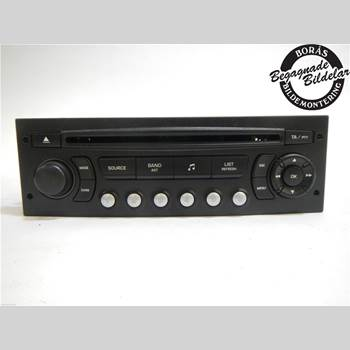 RADIO CD/MULTIMEDIAPANEL CITROEN C4 I   05-10 2,0 2005 6579PC