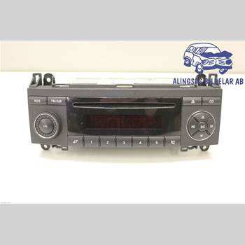 RADIO CD/MULTIMEDIAPANEL MB A-Klass (W169) 04-12 5DCBI 180CDi 6VXL SER ABS 2007