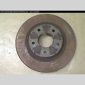 Bromsskiva Fram NISSAN QASHQAI   07-10 2,0 2007