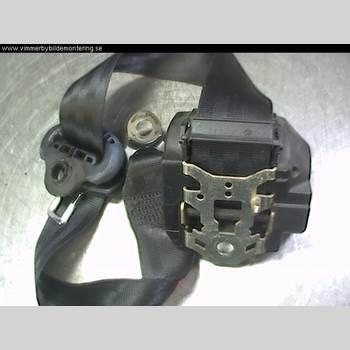Säkerhetsbälte Vänster Bak VW POLO 95-01 1,4I 60HK 1996