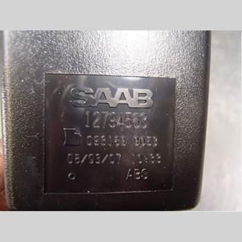 Säkerhetsbälteslås/Stopp SAAB 9-3 Ver 2/Ver 3 08-15 2,0T BioPower Kombi 175hk 2008 12794563