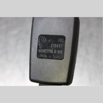 Säkerhetsbälteslås/Stopp SEAT IBIZA III   06-08 1,4i 16V 2008 6Q0857756D