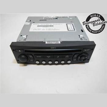 RADIO CD/MULTIMEDIAPANEL CITROEN C4 I   05-10 1,6 2007 6579PC
