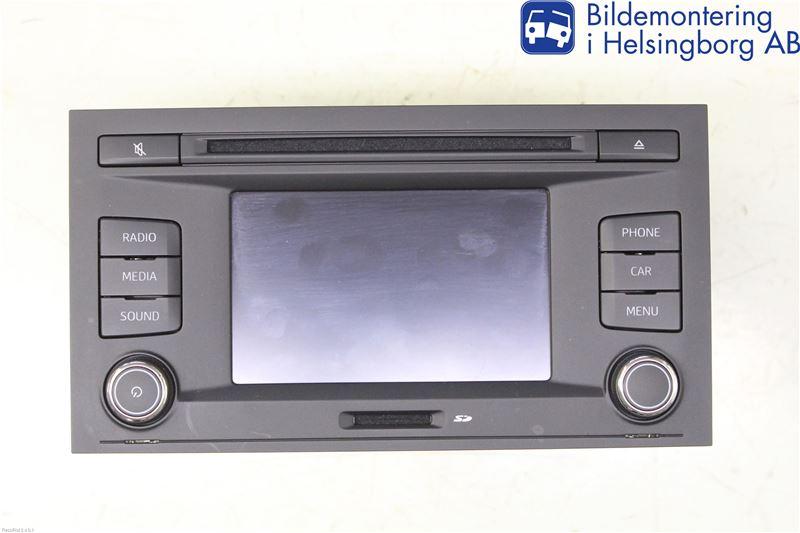 Radio cd/multimediapanel image