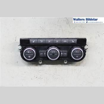 AC Styrenhet AC Manöverenhet VW BEETLE 12- 2,0 TSI 2012 5C0907044N