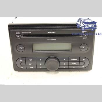 CD Radio NISSAN NOTE E11 06-14 5DCS 1,6i AUT SER ABS 2007