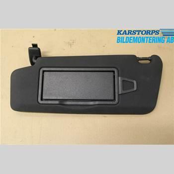 SOLSKYDD MB C-KLASS (W204) 07-15 C180 CGi BlueEFFICIENCY AMG AV 2012 A2048104510