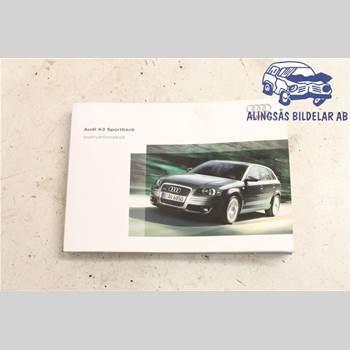 Instruktionsbok AUDI A3/S4 05-13 5DCS 2,0TDi AUT SER ABS 2005