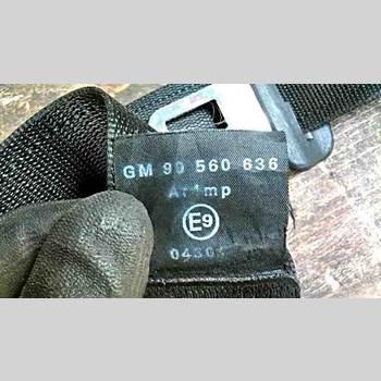 Säkerhetsbälte Höger Fram OPEL ASTRA G 98-03 OPEL ASTRA KOMBI CLUB 1998