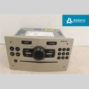 RADIO CD/MULTIMEDIAPANEL OPEL CORSA D 07-14  CORSA ENJO 2008 P6780579