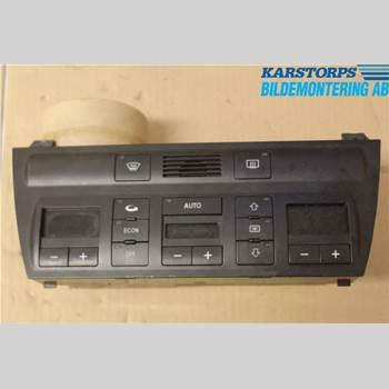 Värmereglage AUDI A6/S6     97-05 2,7T QUATTRO 230hk V6 AWD 2001 4B0820043AG