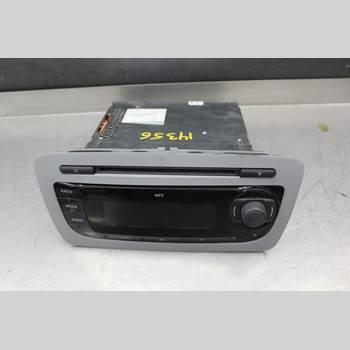 RADIO CD/MULTIMEDIAPANEL SEAT IBIZA IV 08-16 1,6TDi 90hk 2010 6J1035153D