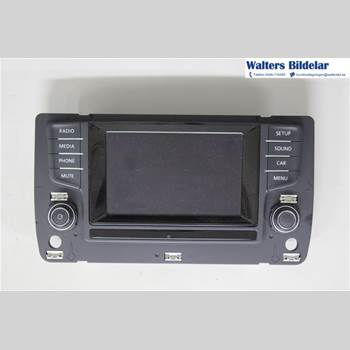 RADIO CD/MULTIMEDIAPANEL VW GOLF / E-GOLF VII 13- 1,2 TSI 2013 5G0919605