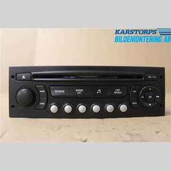 RADIO CD/MULTIMEDIAPANEL CITROEN C4 I   05-10 1,6 HDI SX VTR 2008 6579PC