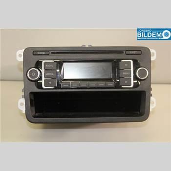 RADIO / STEREO   VW POLO 10-17 1,6 TDI.VW POLO  H-STYRD 2012 5M0057156DX