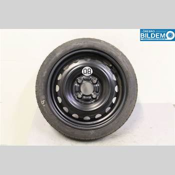 Reservhjul Minityp NISSAN MICRA 11-16 1,2 I. NISSAN MICRA 2014 07A1HD7A