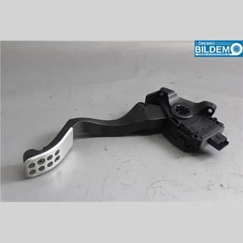 Pedal Gas/Broms/Koppling PEUGEOT 207 1,6 5VXL CAB ROLAND GARROS 2008 1601W8