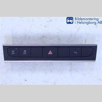 Strömställare Varningsblinkers AUDI A3/S4 05-13 AUDI            8P 2012 8P0927137CH