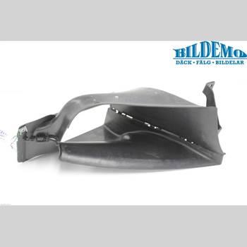 Deflektor/Luftintag Plåt / Plast BMW 1 E82/88 Coupé/Cab 06-13 1M COUPE 2012 51747051605