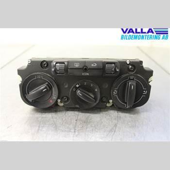 Värmereglage VW CADDY      04-10 1,9 TDI 2006 1K0820047HC