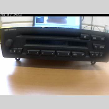 RADIO / STEREO   BMW 1 E87/81 5D/3D 03-11 120D (M47/T2) 2006 65129116611