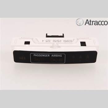 Strömställare Airbag Passagerare TOYOTA AVENSIS 09-15 AVENSIS 4D 1,8 COMBI 2015 83950-05050