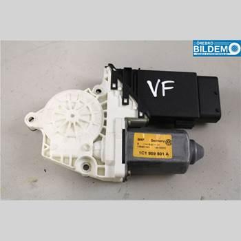 Fönsterhissmotor VW GOLF V 04-09 2,0 FSI.VW GOLF 2004 1C1959801A