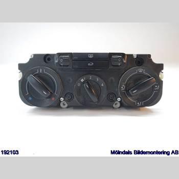 Värmereglage VW CADDY      04-10 VW CADDY KOMBI 2006 IK0819047BN