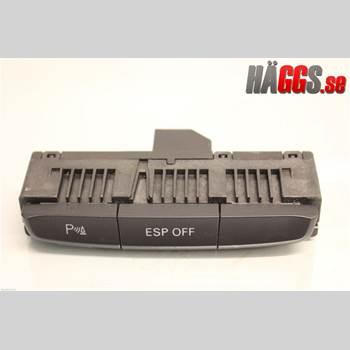 Strömställare Antispinn AUDI A4/S4 08-11 2.0TFSI 6-v Quattro 2009 8K0959673G